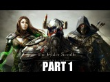 The Elder Scrolls Online Gameplay Walkthrough Part 1 - PC Ultra Settings Review Playthrough