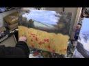 маковое поле художник Сахаров живопись для начинающих