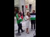 Атака на израильскую журналистку.  Призывы к геноциду израильтян на улицах Лондона.