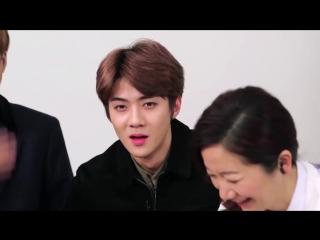 [CUT] 160123 你看起来很好吃节目 Yummy Yummy Ep3 @ EXO's Sehun, Kai