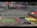 Формула 1. Гран При Италии 2015. Неудачный старт Кими Райкконена и его прорыв с 20 на 5 место.