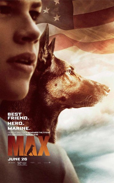 Новый постер семейной ленты «Макс»: