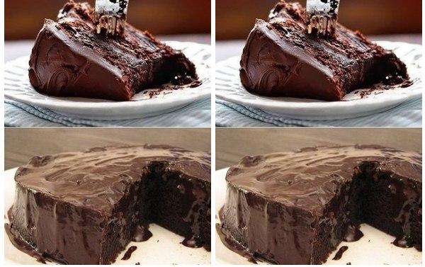 Супервлажный шоколадный пирог без яиц Ингредиенты: Мука пшеничная — 1,5 ст. Смотреть рецепт в источнике...