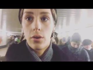 Ирина Горбачева | Irina Gorbacheva (Вежливые люди в метро)