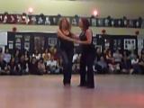 West Coast Swing Dance Demonstration - Robert Cordoba, Deborah Szekely, Luis Crespo, Melissa Rutz - 360