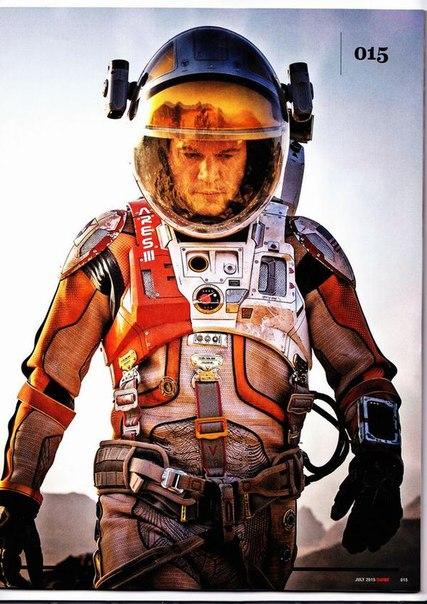Мэтт Дэймон на первом кадре «Марсианина» Ридли Скотта: