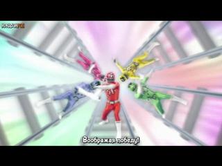 [dragonfox] Ressha Sentai ToQger - 02 (RUSUB)