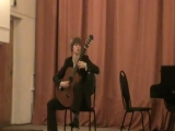 И.С. Бах.  Соната №2, Аллегро Притула Дмитрий гитара
