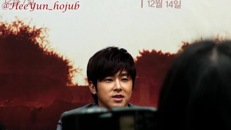 Fancam_Press_131113 Yunho Road for Hope press conf. 1_4 (희망로드 제작발표회 정윤호)