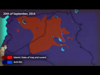 Боевики ИГИЛ как захватывали территории в Сирии,Ираке ,Ливии и Нигерии