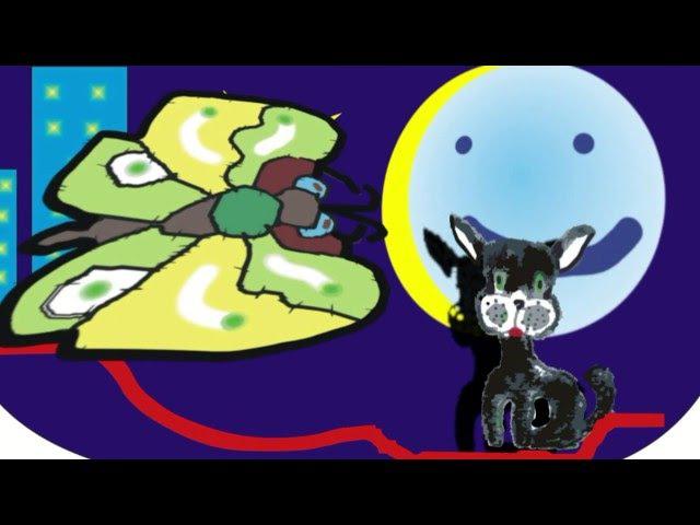 Кот по имени Вася и Луна