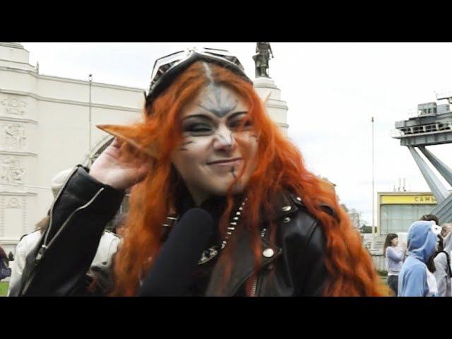 Эльфийка Офелия Касплей на дримфлеш, интервью