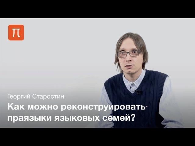 Старостин Георгий - Языковые макросемьи