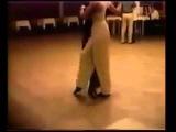 Geraldine ROJAS y Sebastian ARCE 1994, very young dancing CHIQUE
