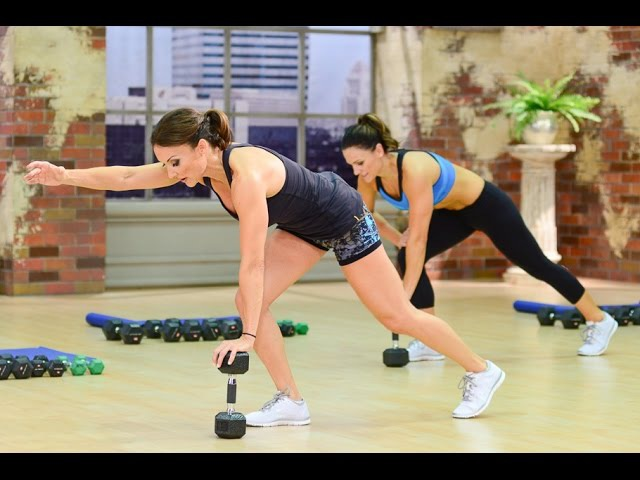 Cathe Friedrich's ICE Chiseled Lower Body Blast workout