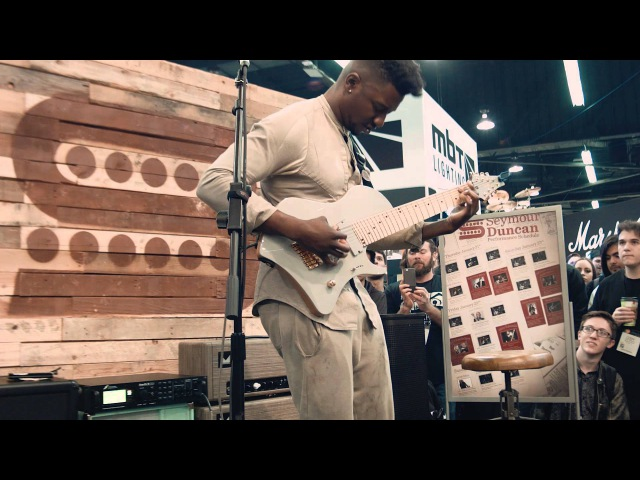 Tosin Abasi- The Woven Web Seymour Duncan NAMM 2016