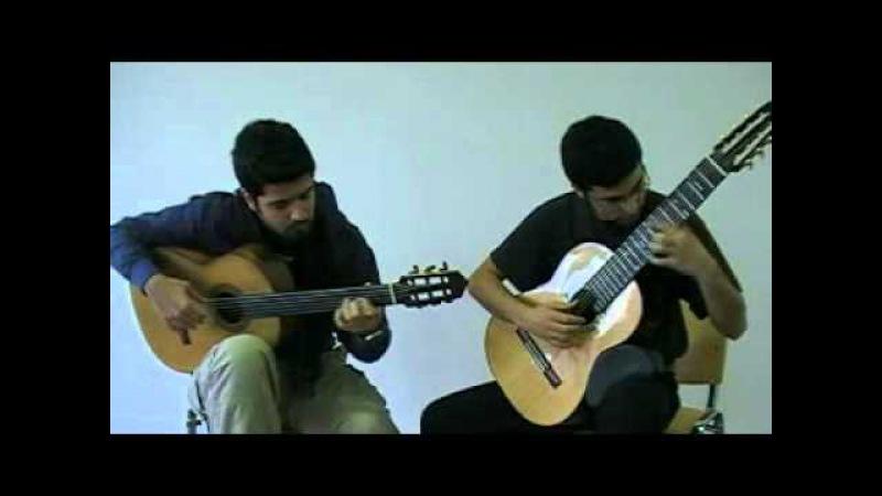 Microtonal Guitar Duo Yemen Türküsü Sinan Cem Eroğlu Tolgahan Çoğulu