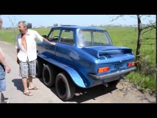 Тюнингованный ЗАЗ 968