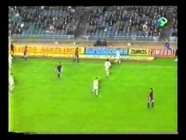 Барселона ЦСКА Лига чемпионов 1992 1993 1 8 финала второй матч Русский комментатор