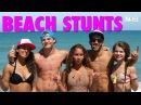 Beach Stunts | Gabi Butler Cheer
