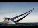 Alex Thomson прыжок с 30 метровой мачты в океан
