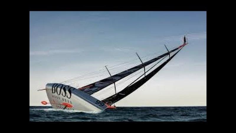 Alex Thomson прыжок с 30 метровой мачты в океан смотреть онлайн без регистрации