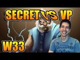 W33 Dota 2 [Zeus] TEAM SECRET vs VIRTUS.PRO StarLadder | i-League