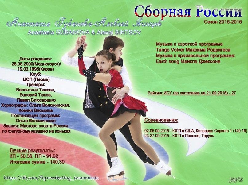 JGP - 5 этап. 23 - 27 Sep 2015 Torun Poland T0t3yMMghcM