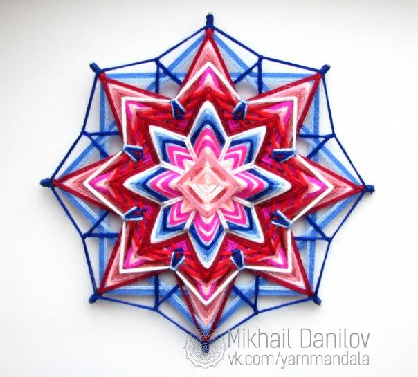 Мандала из пряжи мастер класс - Rc-garaj.ru
