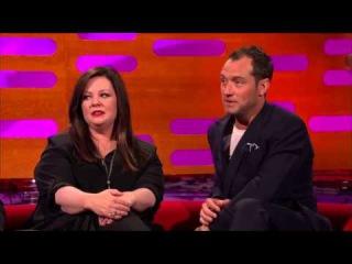 The Graham Norton Show S17E08: Melissa McCarthy, Jude Law, Chris Pratt, John Bishop and Florence