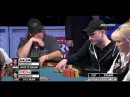Will AA hold vs QQ ?!? WSOP 2012 - Day 5 - World Series of Poker 2012 Main Event