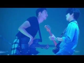 CNBLUE - Mr.KIA @ Arena Tour「Wave」in Osaka 2014.11.06 한글자막