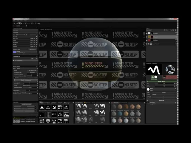 Substance Painter decal painting