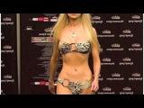 Valeria Lukyanova Amatue - winning a beauty contest