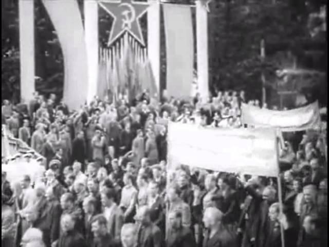Советская Прибалтика 1940 (Soviet Lithuania Estonia Latvia)