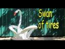 Как Сделать Лебедя из Шины Своими Руками / Поделки из покрышек / Sekretmastera