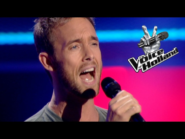 Charly Luske - This Is A Mans World (The Blind Auditions | The voice of Holland 2011)