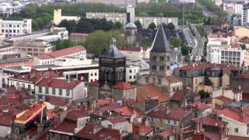 Франция 2013 01 Клермон-Ферран (прогулка по исторической части города)