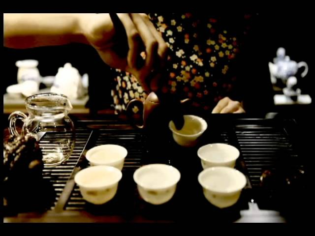 The Chinese Tea Company - Brewing Oolong Tea - Chinese Tea Ceremony