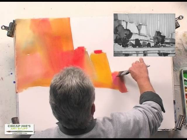 Painting the Four Corners Part1 with Watercolor Artist Frank Francese