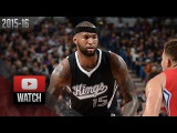 DeMarcus Cousins Full Highlights vs Clippers (2015.10.28) - 32 Pts, 13 Reb