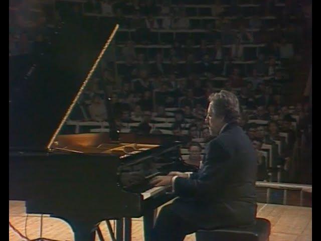 Lazar Berman plays Schubert-Liszt, Liszt, de Falla - video 1981