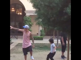 "Justin Bieber News on Instagram: ""August 4: Video of Justin playing soccer at the Montage Hotel in Beverly Hills, CA."""