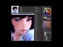 Photoshop Portrait Painting Tutorial by Ilya Kuvshinov