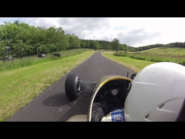 Doune Hillclimb / 22nd June 2014 / P4 / 44.17 (PB)