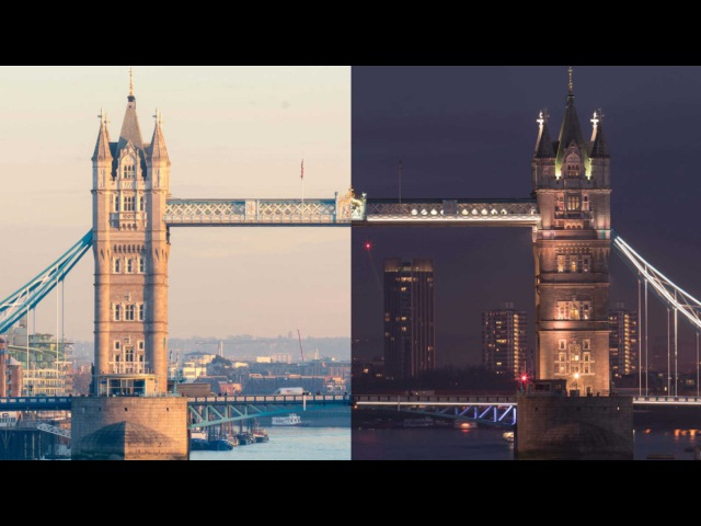 Timelapse Of Day And Night In London