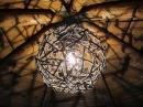 Как Сделать Люстру из природного материала Своими Руками / Деревянный шар / Поделки Sekretmastera
