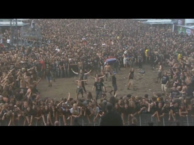 Most BRUTAL Wall of Death at a Metal Festival Ever!!