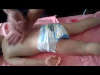 Детский массаж при ночном недержании мочи