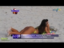 Nicole Bahls na Praia Biquini Fluorescente Brazilian Girls vk/braziliangirls